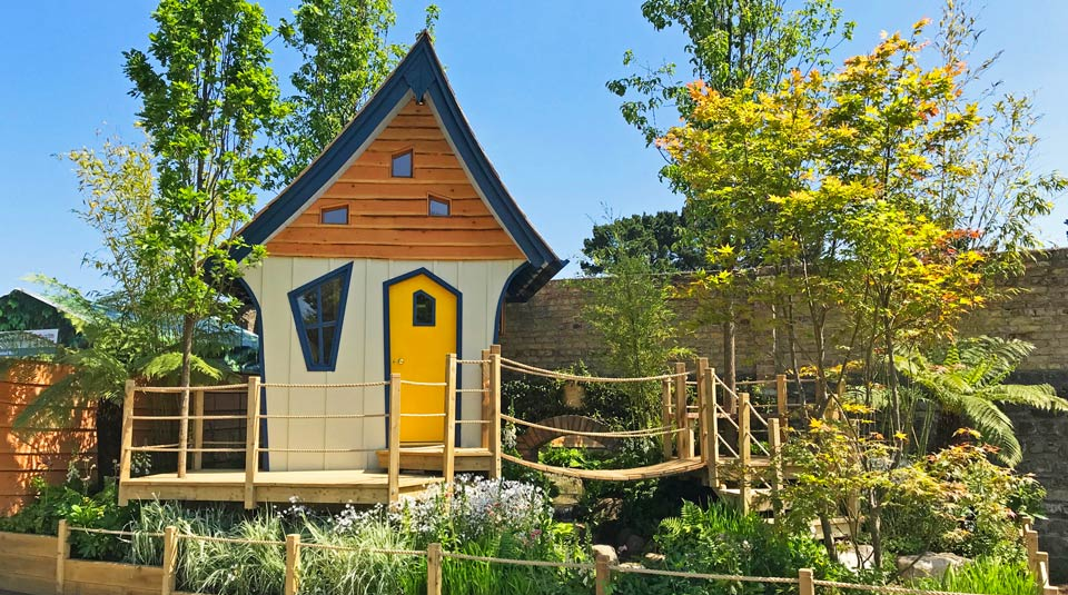 Bespoke luxury children's treehouse design by Forest Wild Treehouses